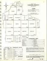 Index Map, Dakota County 1964